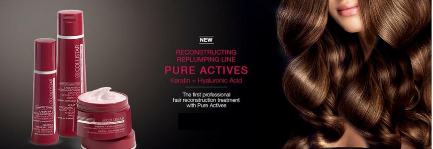 Pure Actives Collistar Reconstructing Replumping
