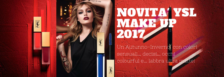 YSL New Make-Up A-I 2017/18