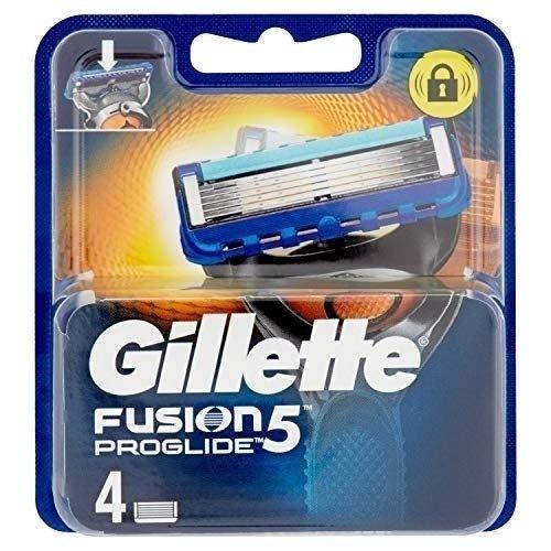 GILLETTE - FUSION PROGLIDE RICAMBI LAME X4 pezzi - 7702018010608