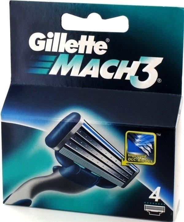 GILLETTE - MACH 3 RIC.LAME X4 - 7702018337873
