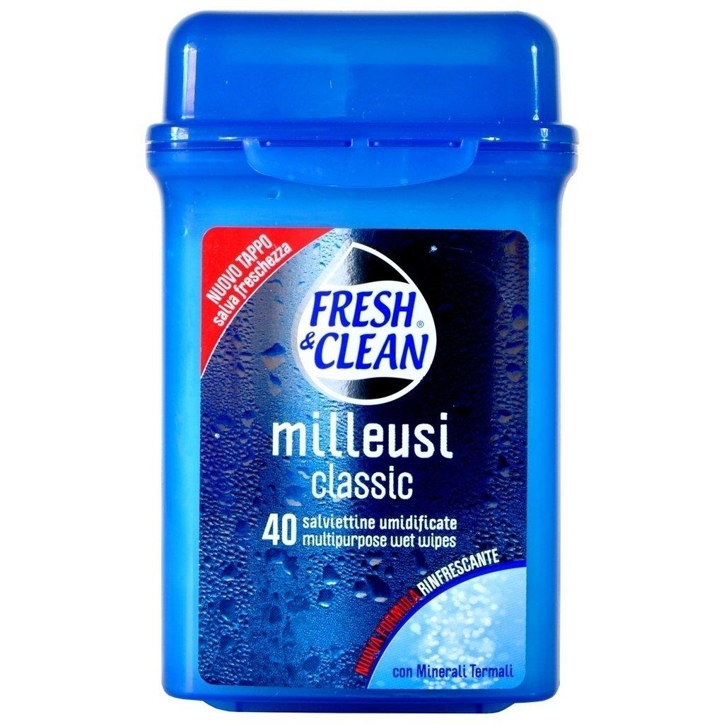 FRESH&CLEAN SALVIETTE UMIDIFICANTI CLASSIC X40