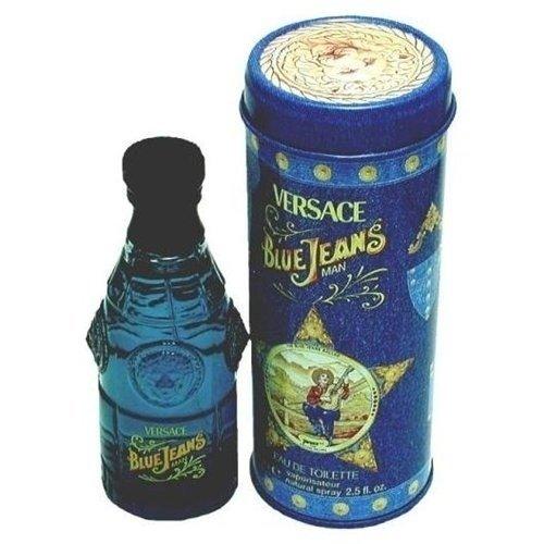 VERSACE - BLUE JEANS Eau De Toilette Spray       75 ML - 8018365260757