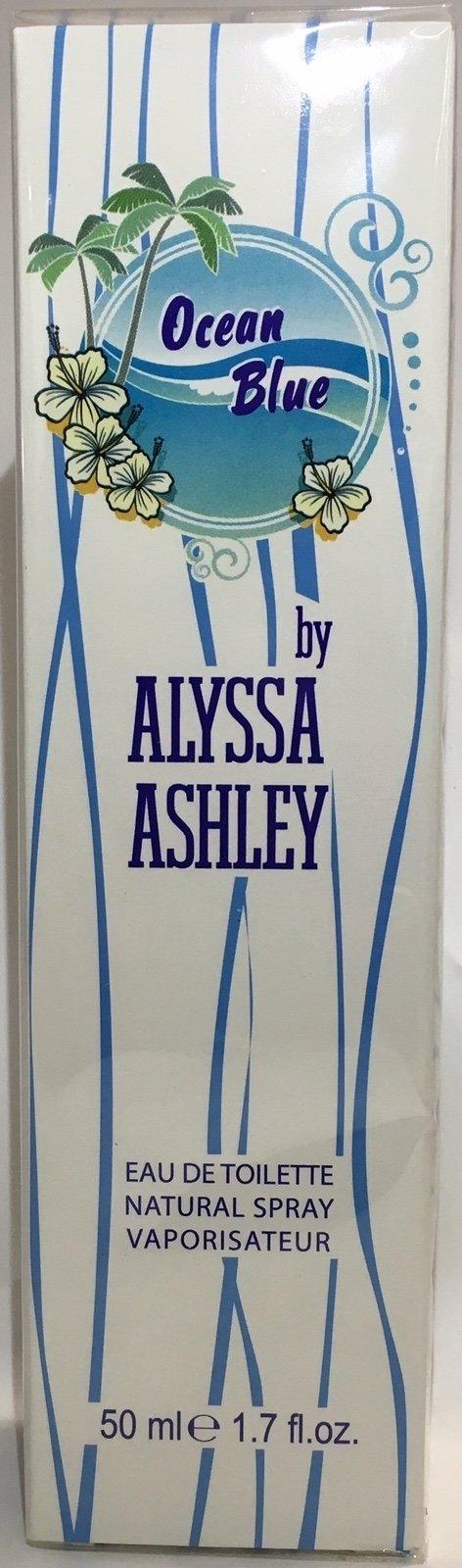 ALYSSA ASHLEY  - OCEAN BLUE Eau De Toilette SPRAY      50 ML - 3495080793053