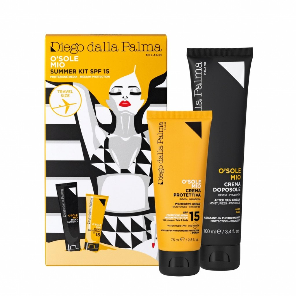 O SOLEMIO KIT CREMA SPF15  75 ML +DOPO SOLE100 ML