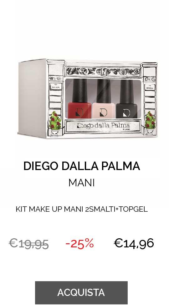 DIEGO DALLA PALMA KIT MAKE UP MANI 2SMALTI+TOPGEL