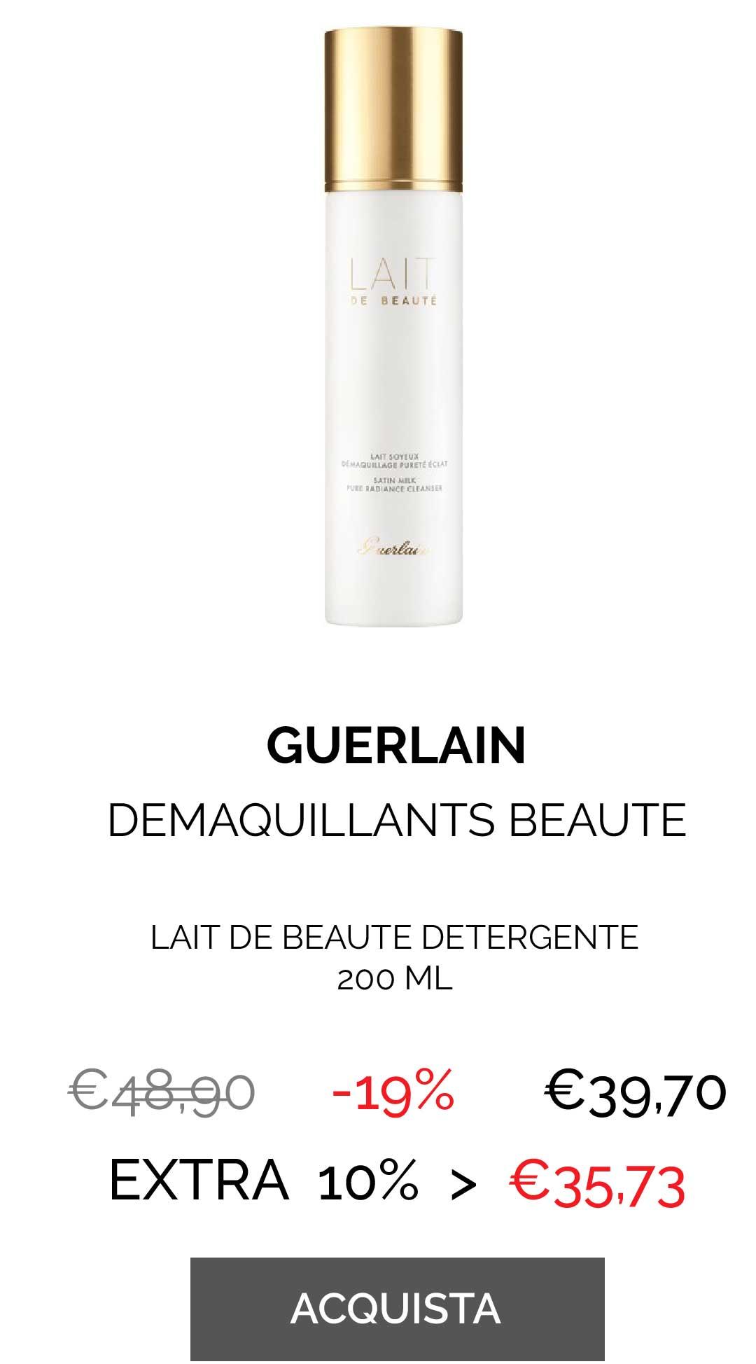 GUERLAIN - LAIT DE BEAUTE DEMAQU. 200 ML
