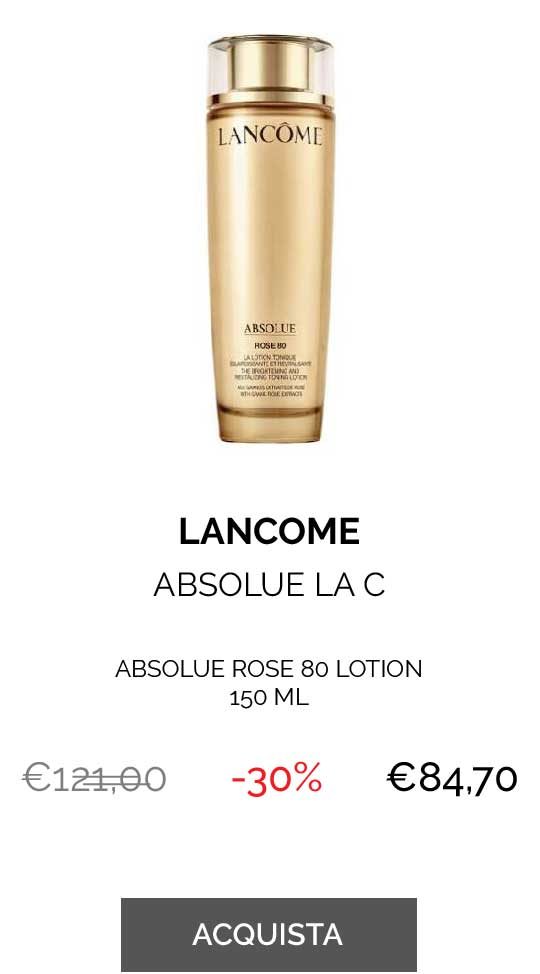 LANCOME ABSOLUE ROSE 80 LOTION 150 ML