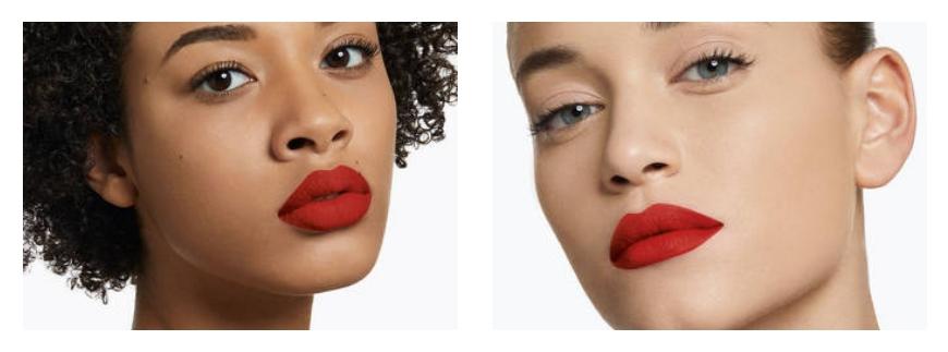ysl Rouge pur couture the slim matte lipstick applicazione