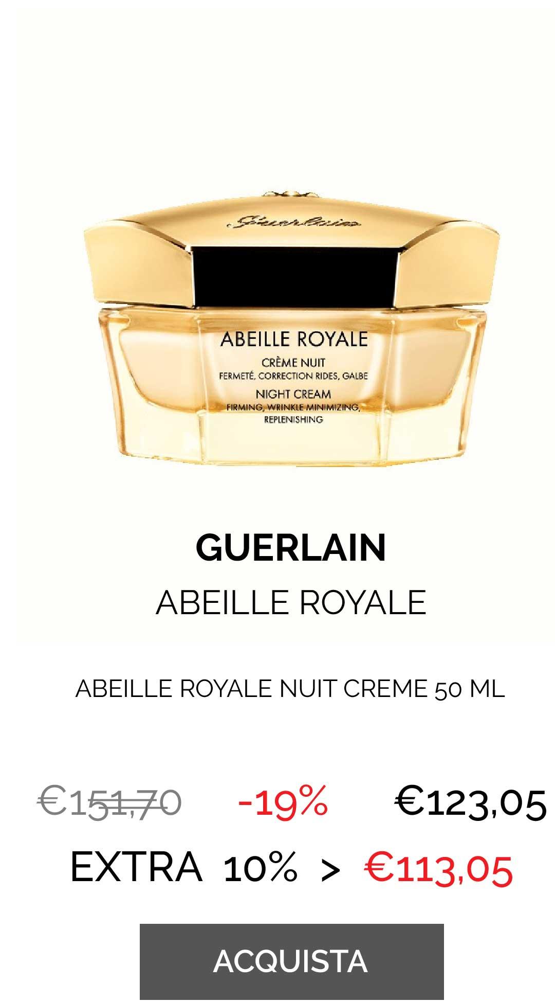 GUERLAIN - ABEILL.ROYALE NUIT CREME 50 ML
