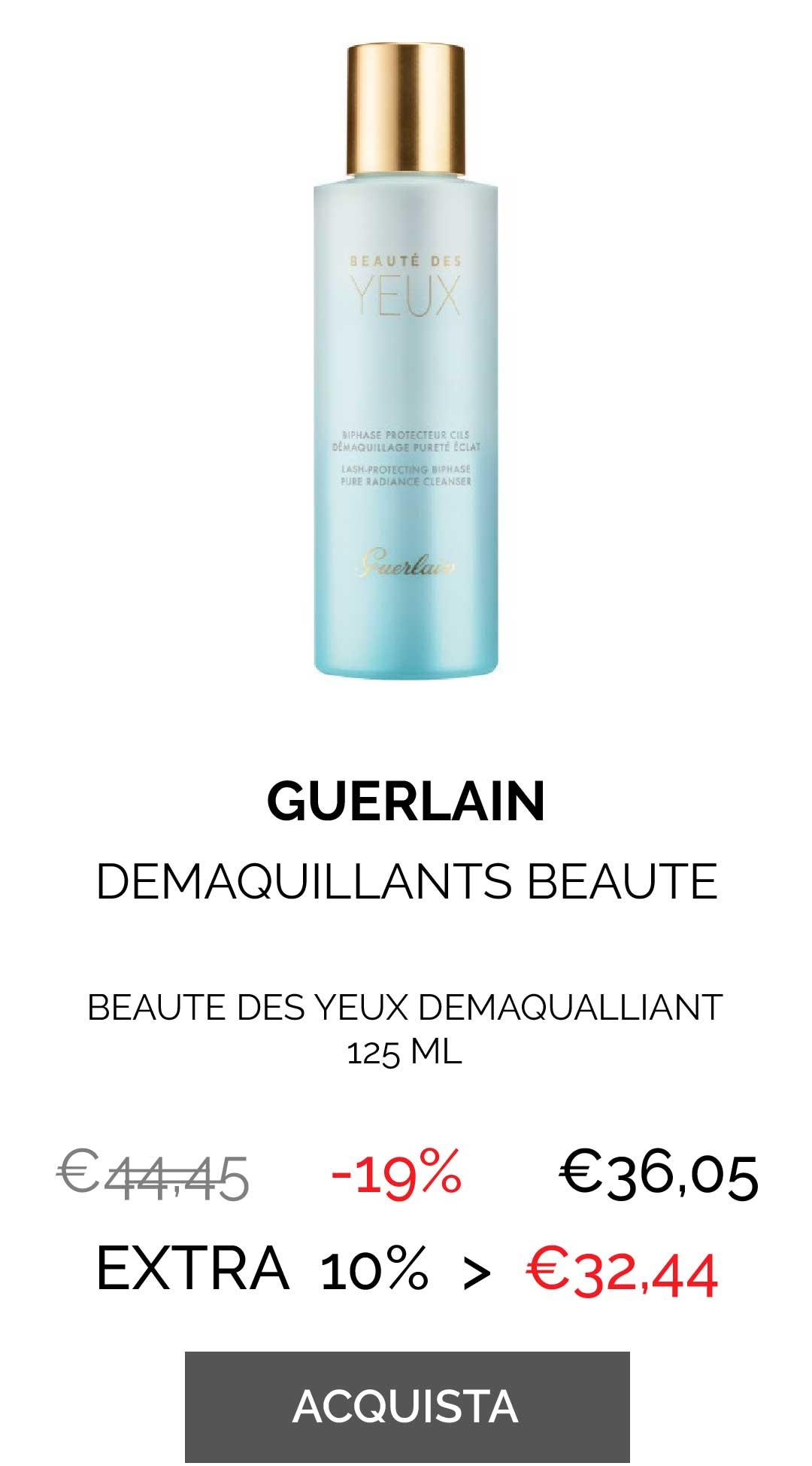 GUERLAIN - BEAUTE DES YEUX DEMAQUALLIANT 125 ML