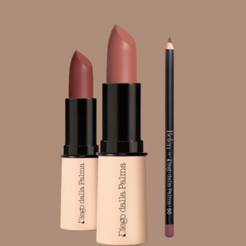 Belen Shiny Lipstick & Pencil - Diego dalla Palma