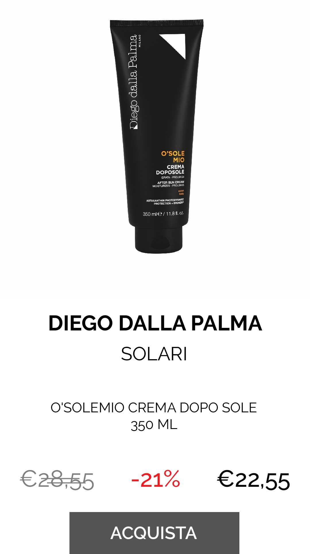 O'SOLEMIO CREMA DOPO SOLE 350 ML