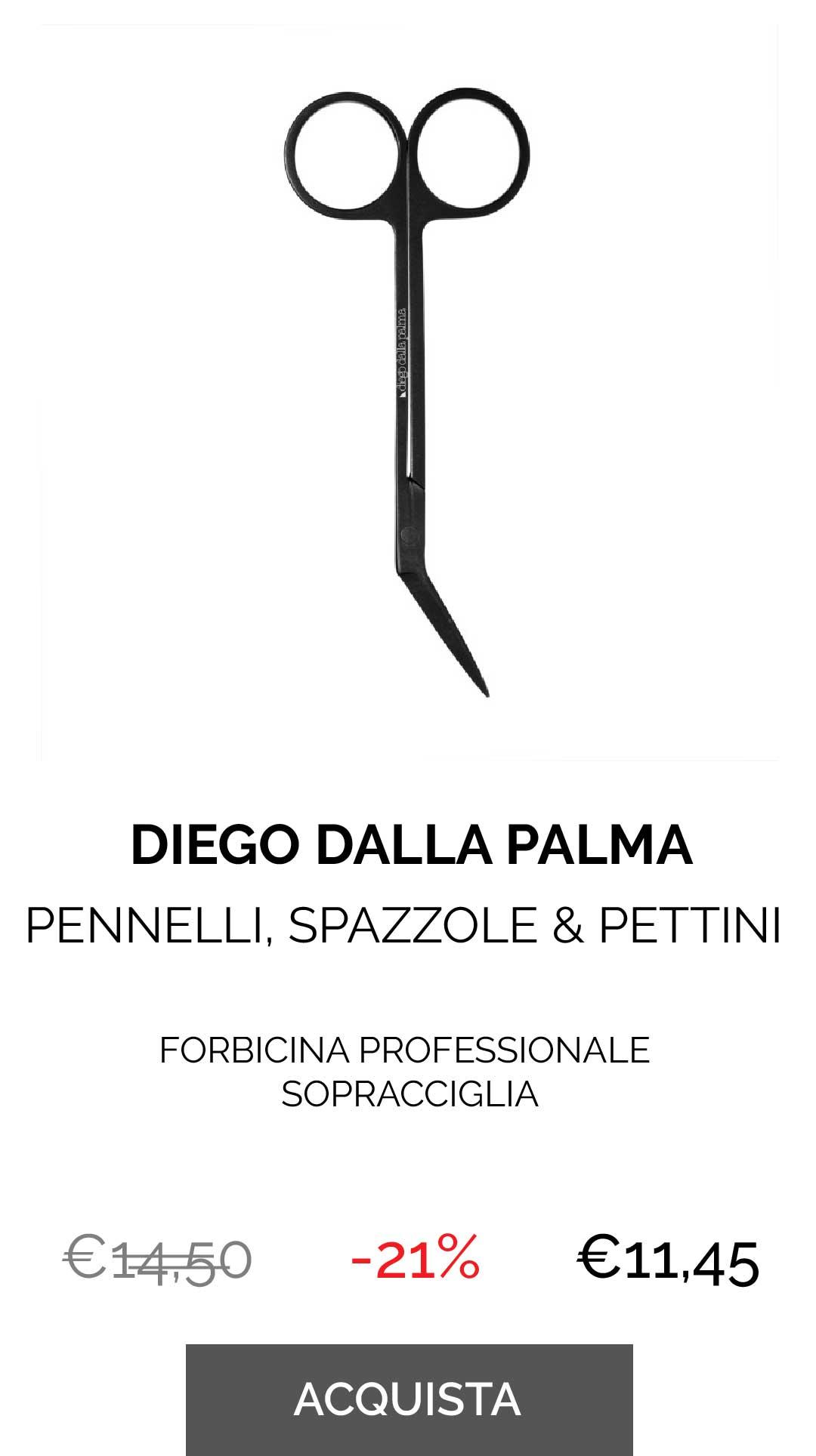 DIEGO DALLA PALMA - FORBICINA PROFESSIONALE SOPRACCIGLIA