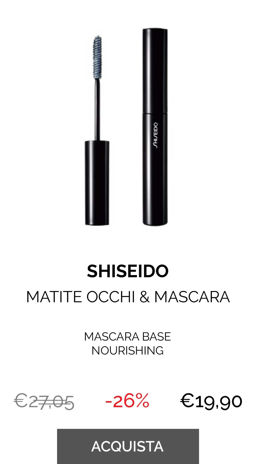 SHISEIDO - MASCARA BASE NOURISHING