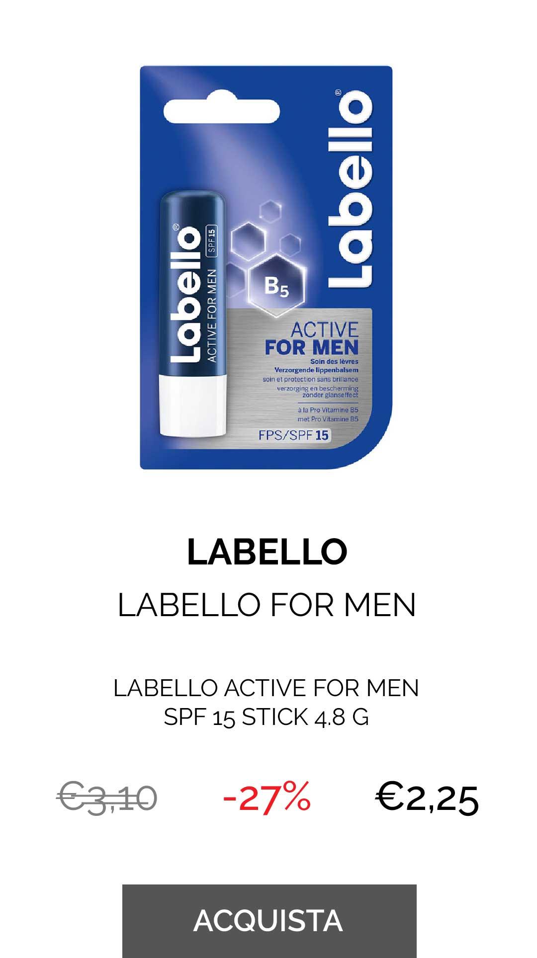 LABELLO - LABELLO FOR MEN