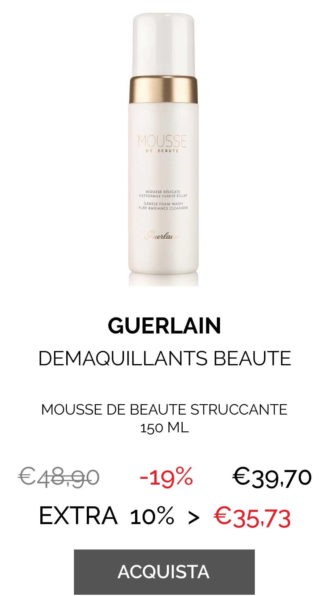 GUERLAIN - MOUSSE DE BEAUTE DEMAQU. 150 ML