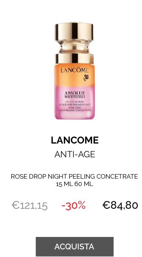 LANCOME ROSE DROP NIGHT PEELING CONCETRATE 15 ML
