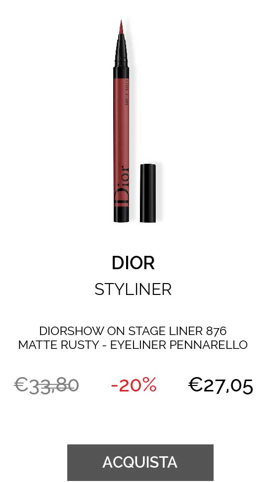 DIORSHOW ON STAGE LINER 876 MATTE RUSTY - EYELINER PENNARELLO