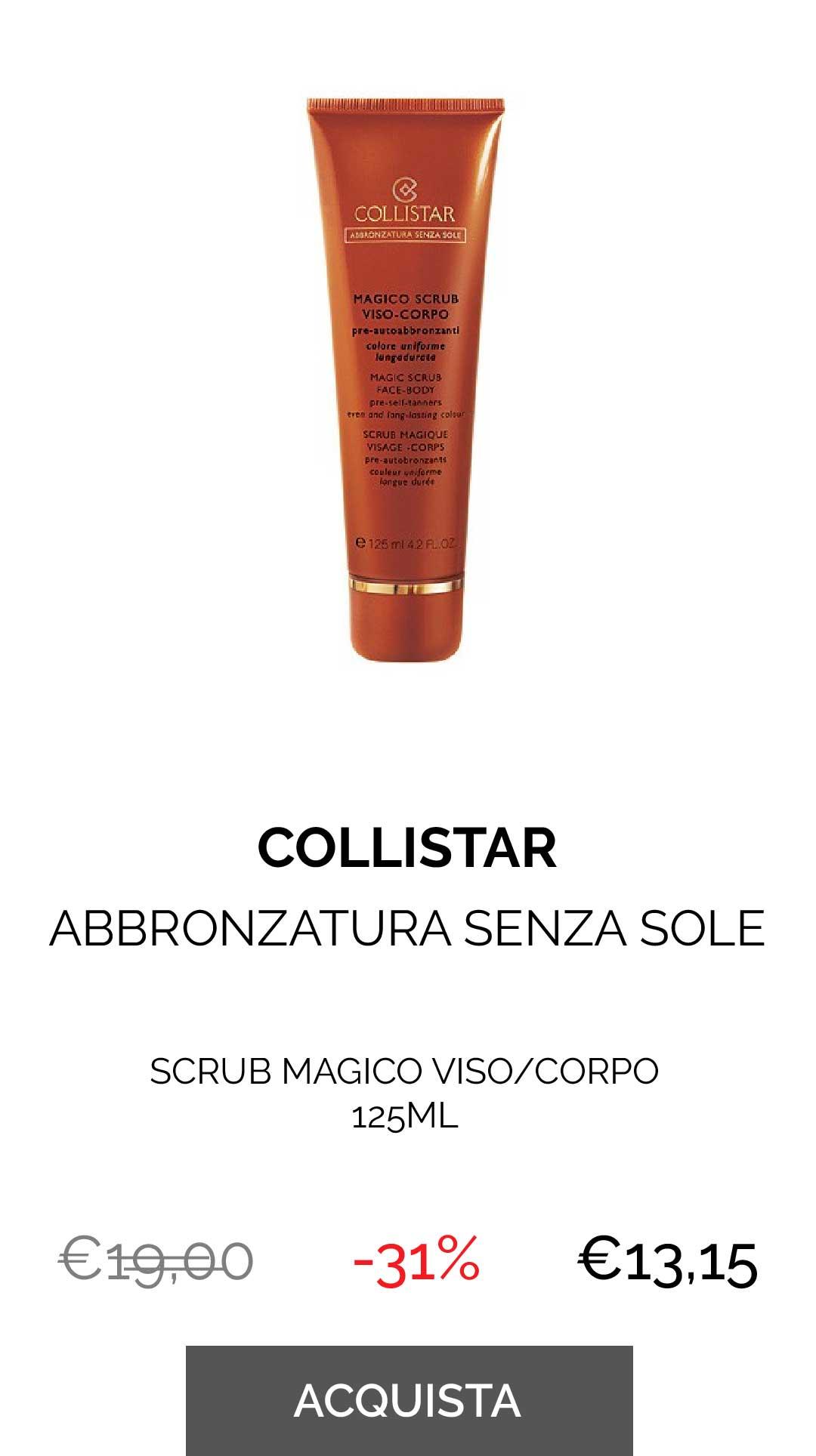 Collistar - SCRUB MAGICO VISO/CORPO 125ML