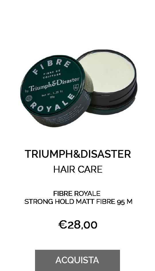 TRIUMPH&DISASTER-FIBRE ROYALE STRONG HOLD MATT FIBRE 95 M
