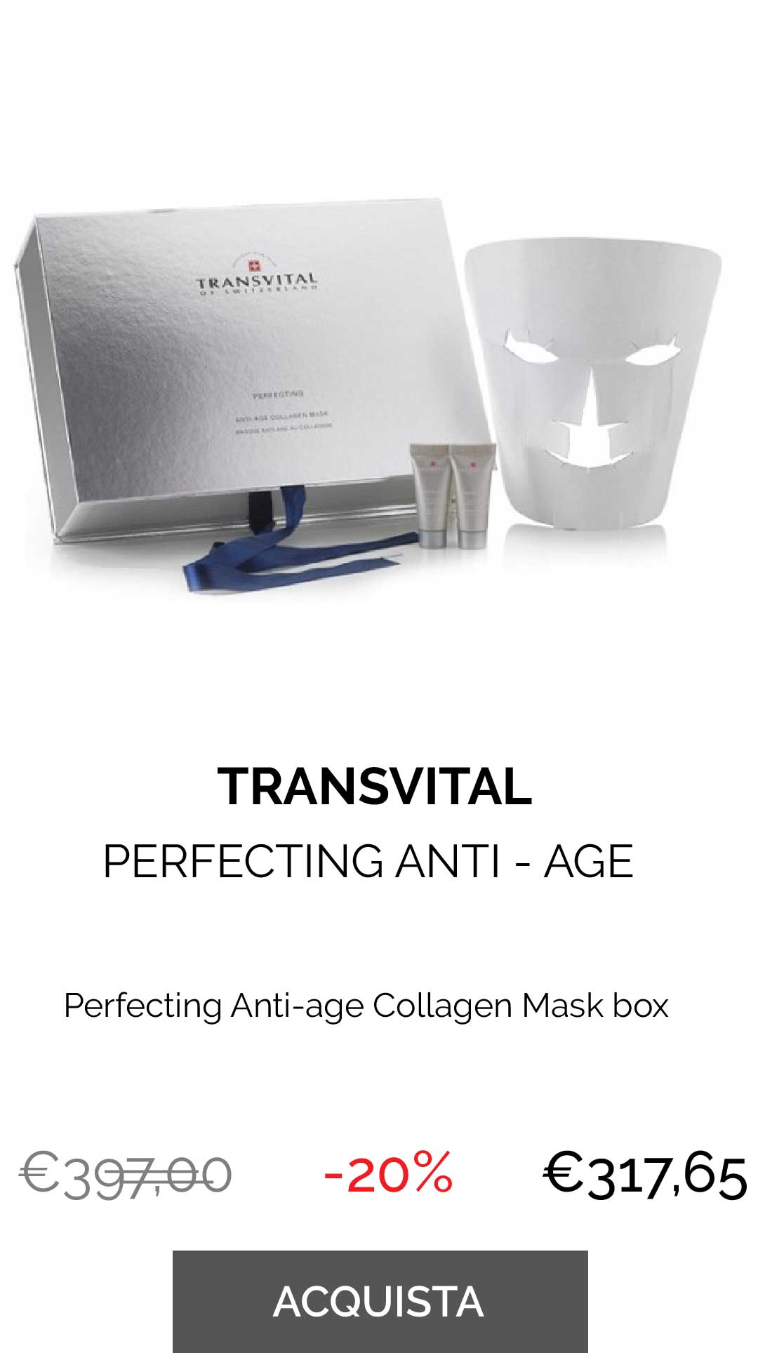 TRANSVITAL - PERFECTING COLLAGEN MASK BOX