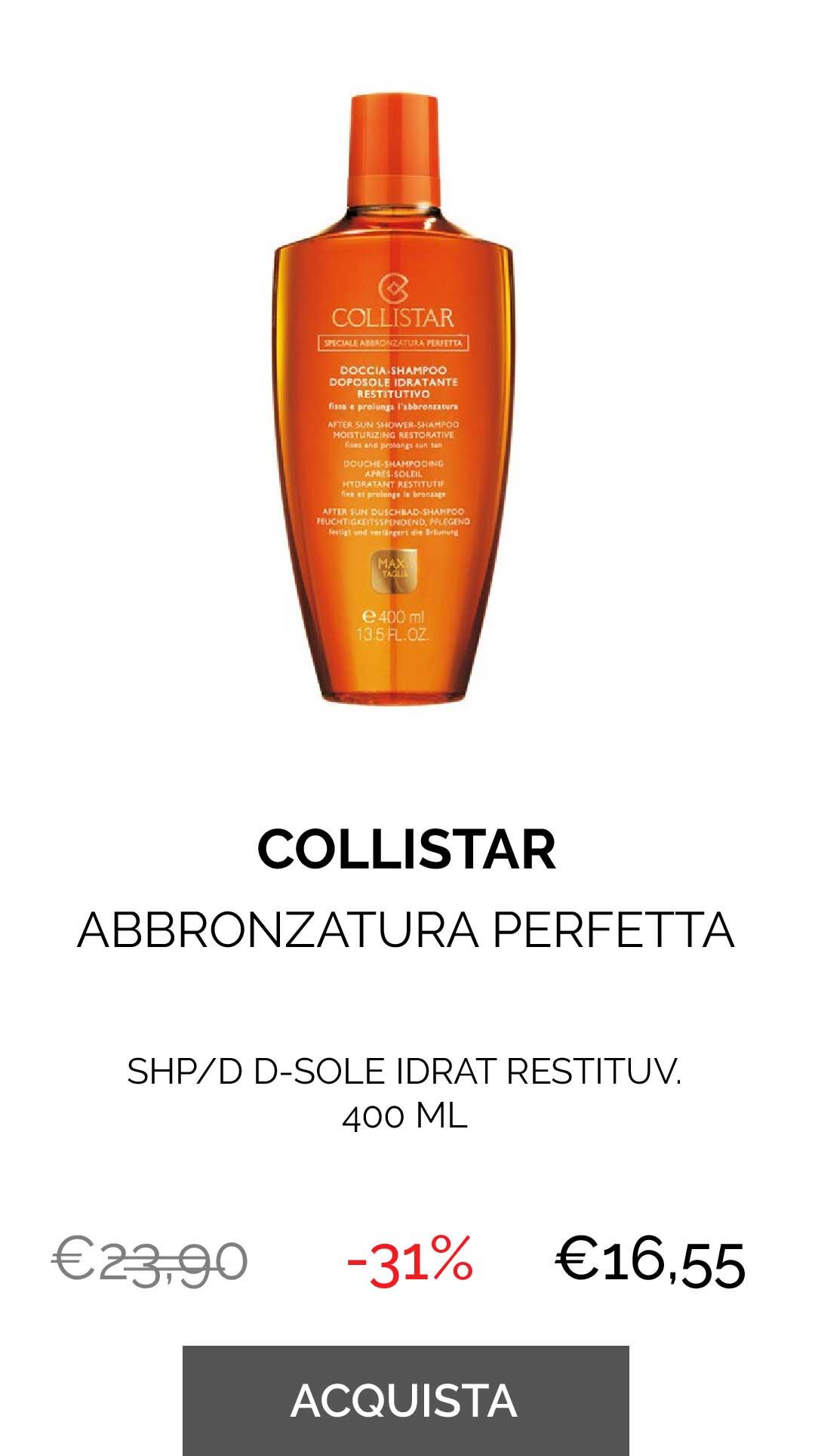 Collistar - SHP/D D-SOLE IDRAT RESTITUV. 400 ML