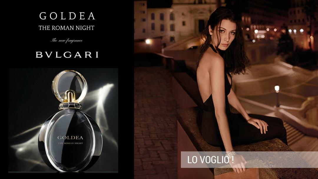 Goldea Roman Night ... Il nuovo Eau De Parfum di Bulgari