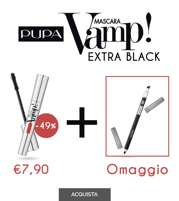 PUPA - MASCARA VAMP 100 EXTRAIT BLACK