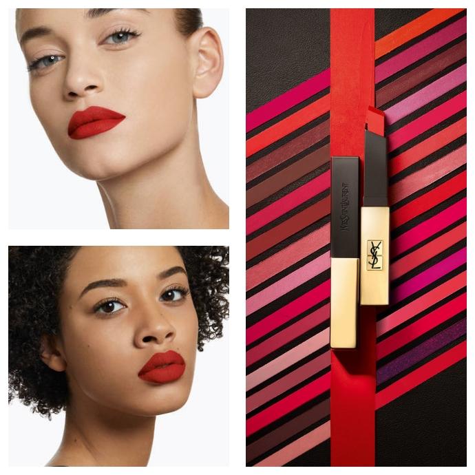 ysl Rouge pur couture the slim matte lipstick