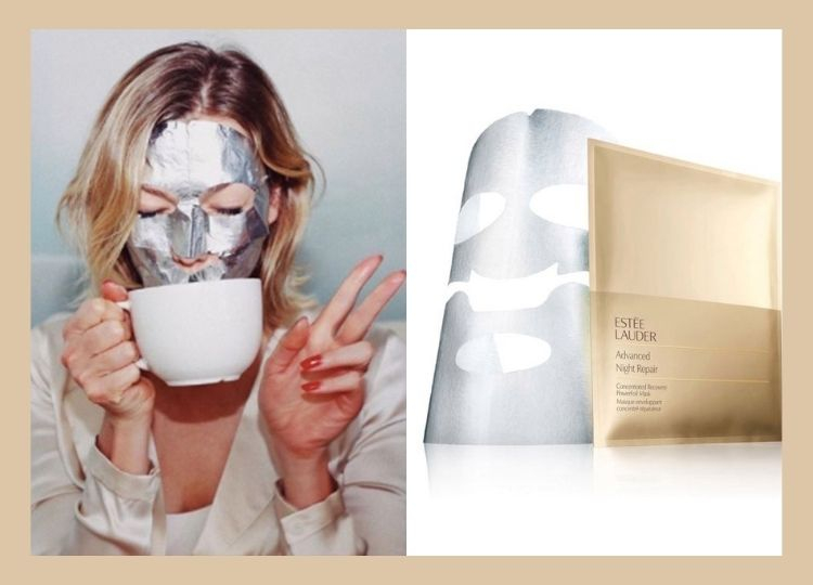 Estée Lauder -   Advaced Night Repair Concentrated Recovery PowerFoil Mask X4