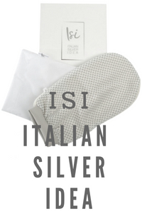 Isi Guanto esfoliante in argento
