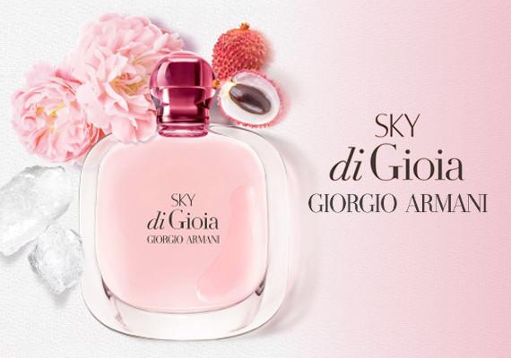 Sky di Gioia, la nuova fragranza di Giorgio Armani