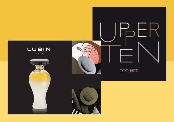 Upper Ten for Her di Lubin, la nuova frizzante e lussuosa fragranza !