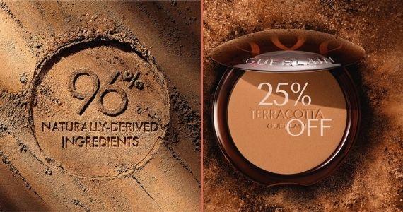 Guerlain Terracotta la Poudre 96% natural Derived ingredients