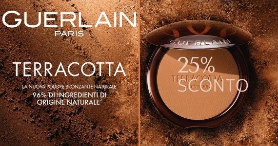 Guerlain Terracotta La poudre con il 96% d'ingredienti naturali