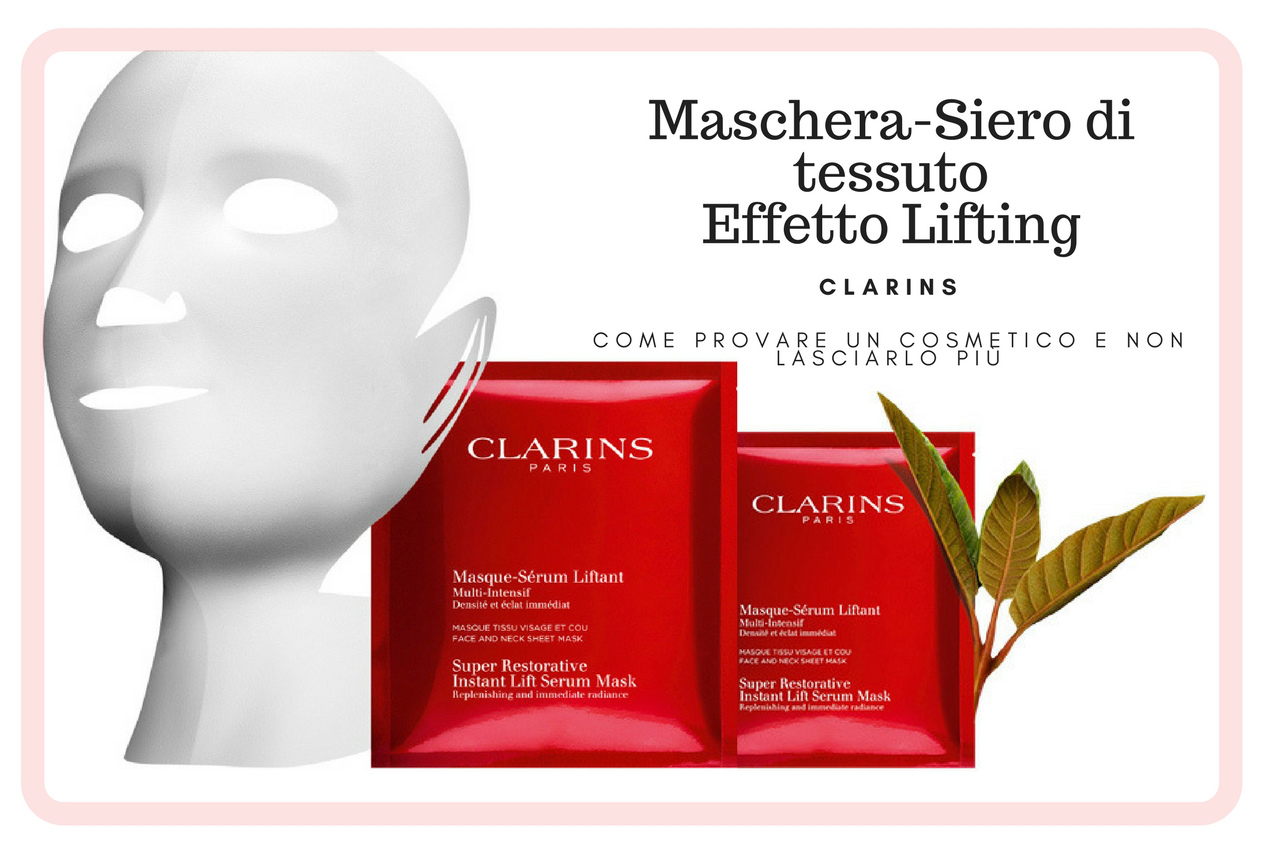 Scopri la maschera Serum Liftante in soli 15 minuti di Clarins