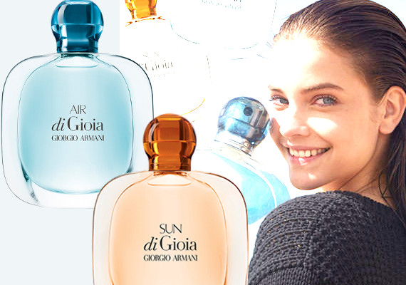 Sun di Gioa & Air di Gioia. The new fragrances by Giorgio Armani!