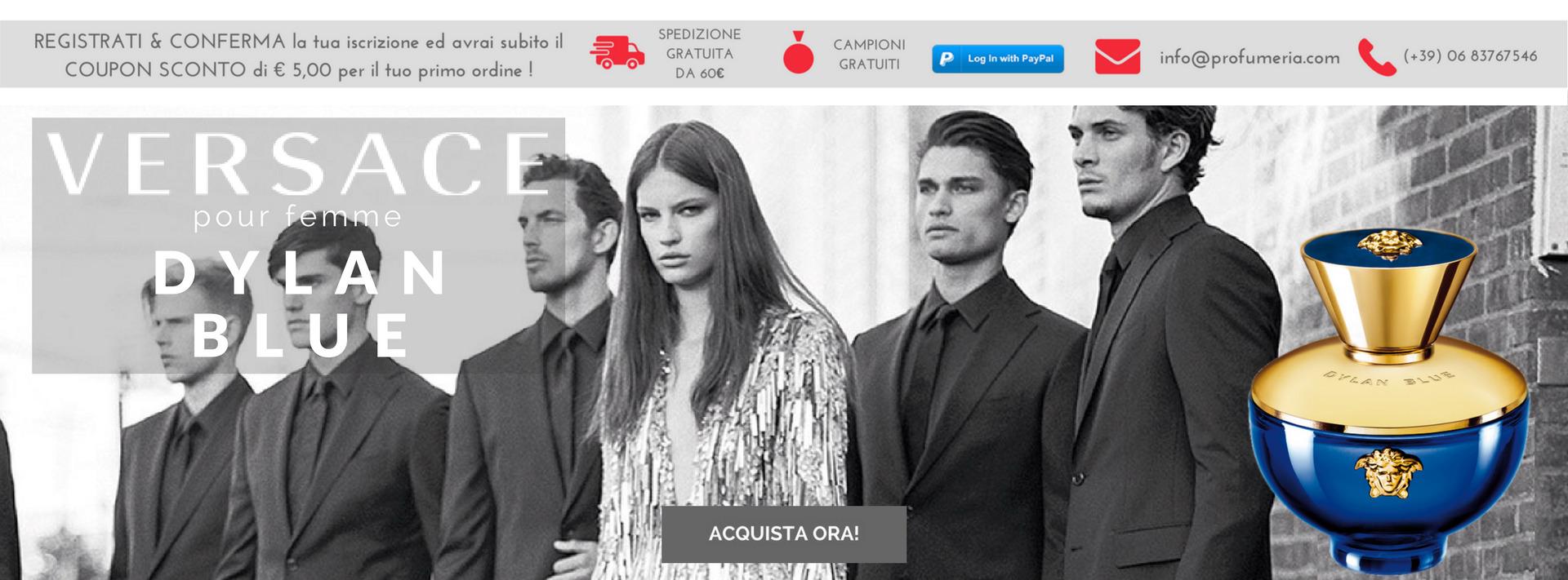 La nuova Fragranza di Versace Dylan Blue pour femme !