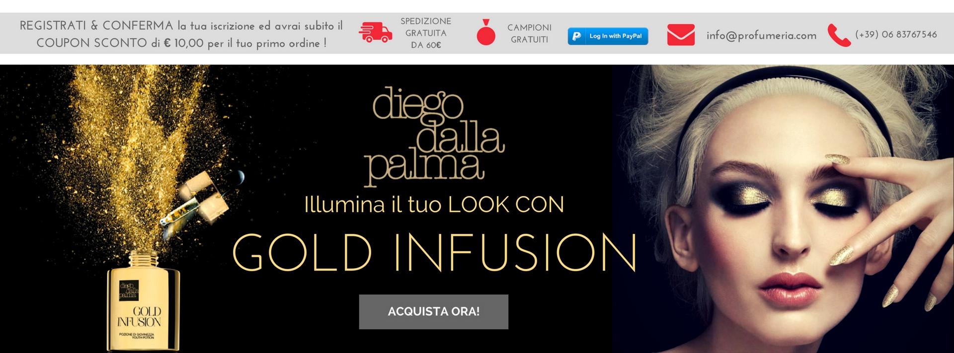 Diego Dalla Palma Gold Infusion !