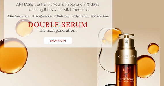 The New Double Serum by Clarins