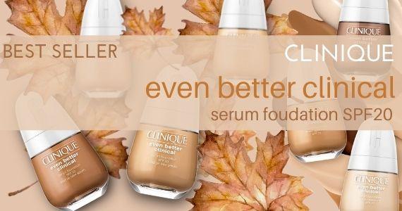 Clinique even better clinical serum foudation