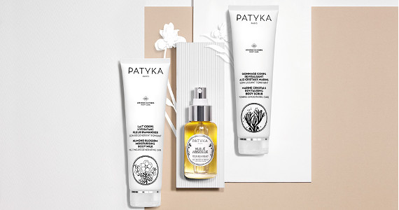 PATYKA is a renowned Parisian Beauty House with origins that embody excellence by creating efficient, beautiful and ethical products.