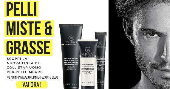 Cura la tua pelle con Collistar Trattamenti Uomo!